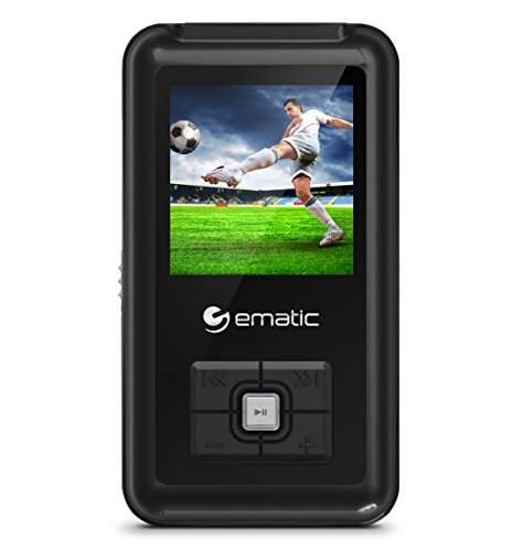 Ematic MP3 Video Player com sintonizador FM