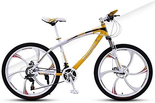 Cómodo Bicicleta de los niños, Bicicletas niños, Bicicletas de montaña, Doble Freno de Disco de Velocidad de Bicicletas niños y niñas, de 24 Pulgadas Variable Ciclo de Jóvenes Adultos de absorción de