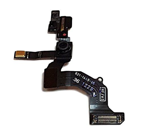 Smartex Camera Frontale Compatibile con iPhone 5G – Front Cam con sensore di Luce, sensore di prossimità, Cavo per Microfono e Cavo Flessibile