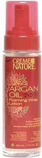 Creme of Nature Argan Oil Foaming Wrap Lotion 7 oz