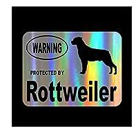 MDGCYD 車 ステッカー犬 R 13Cm * 10Cmロットワイラー犬警告車ステッカーで保護パーソナライズされたデカールトラックオートバイオートアクセサリーPvc、