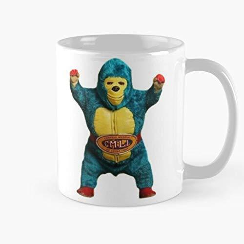 Luchador Blue Comic Wrestling Ape Gorilla Enmascarado Mascaras Monkey Wrestler Superhero Mistico Demon Mexican AAA Kemonito Libre Mask Mil Santo Lucha Spanish Shocker Cmll Best 11 oz Kaffeeb