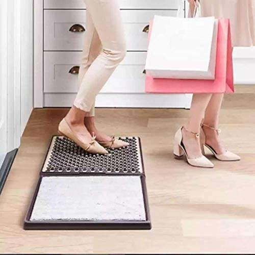 Disinfecting Shoe Mat for Entrance, Shoe Soles Disinfectant Floor Mats, Sanitizing Mats for Home Hospital Restaurant Classroom Household indoor Doormats