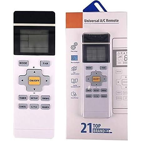 Universal Fernbedienung Für Klimaanlage Programmierbar Für Fedders Frestech Fujitsu Zhen Bao Funai Baumarkt
