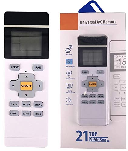 Universal Fernbedienung für Klimaanlage programmierbar für PANASONIC | PANDA | PHILCO | PROTON