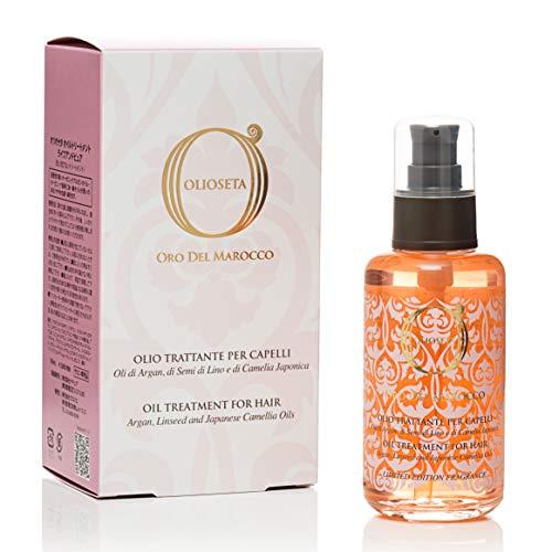 BAREX | Oro del Marocco Olio Trattante Riparatore | Olio per capelli danneggiati | Azione idratante, nutriente e disciplinante visibile da subito | Districante capelli | 100 ml