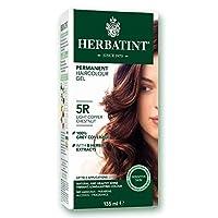 Herbatint, Permanent Haircolor Gel, 5R Light Copper Chestnut, 4.56 fl oz (135 ml)