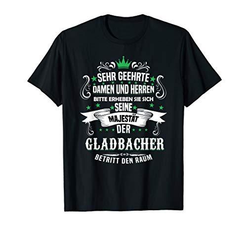 Seine Majestät der Gladbacher Fanartikel Gladbach Fan Trikot T-Shirt