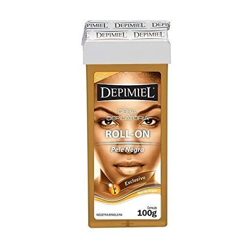 Depilatório Refil Roll on 100G Pele Negra Unit, Depimiel