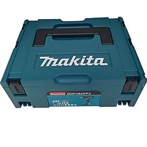 Makita DDF482RFJ Akku-Bohrschrauber 18 V, 54 W, Schwarz, Blau