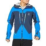 [ホグロフス] ゴアテックス、マウンテンパーカ スピッツジャケット Spitz Jacket Men メンズ Tarn blue/storm blue UK M (日本サイズL相当)