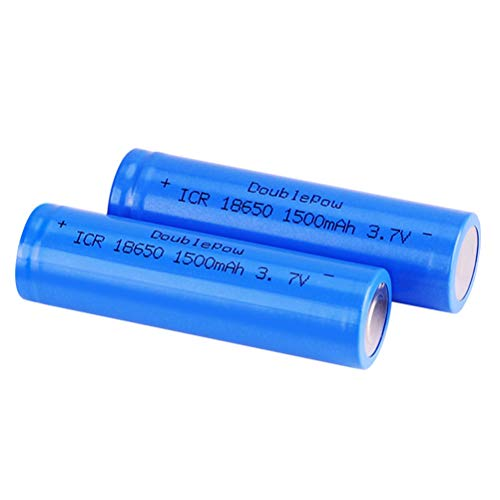 18650 Battery, Rechargable AA Batteries, Flat Top Charger Batteries Explosion Proof Leak Proof...