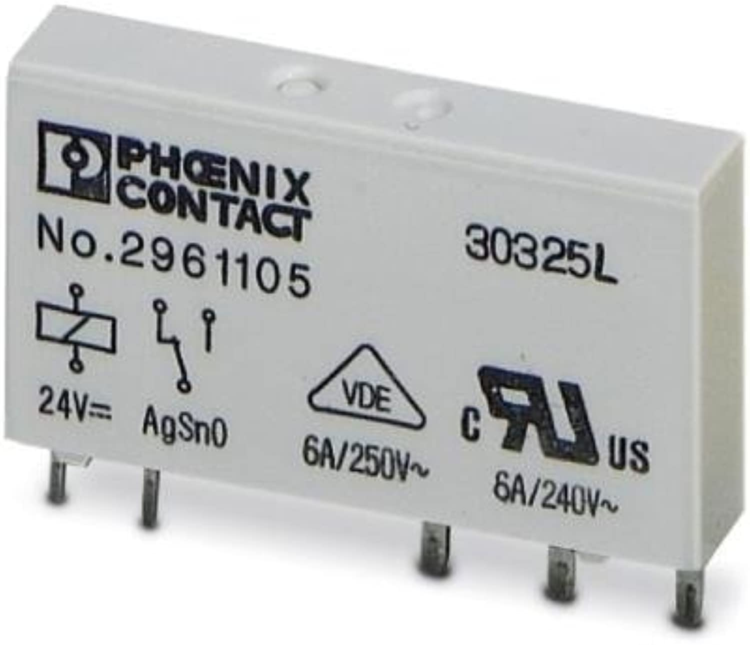 Industrial Relays REL-MR-24DC 21 REPLACEMENT RELAY by Phoenix