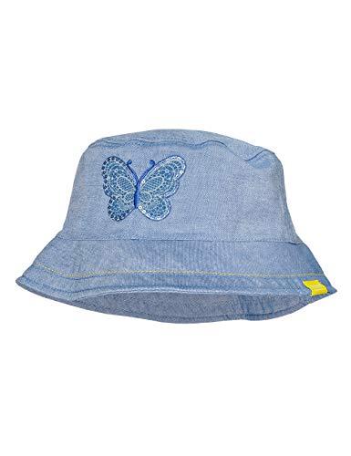 maximo Hut Chapeau De Soleil, Bleu (Jeans 63), 49 Bébé Fille