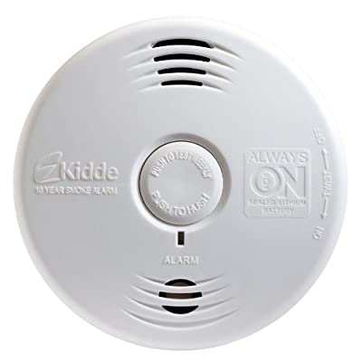 Kidde Worry-Free Smoke Alarm and 10 Year Sealed Battery