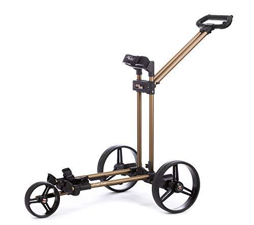 Flat Cat Gear Golf Elektro Trolley 3 Rad Farbe: Gold-Bronze