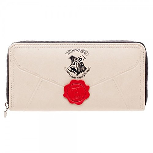 Offizielle lizenzierte Damen Harry Potter Brief Zip Around Geldbörse Geldbörse