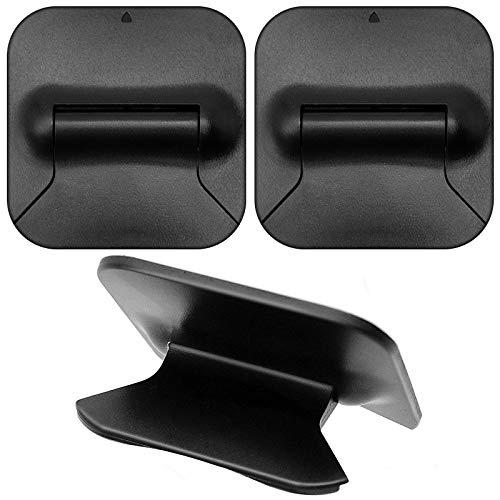 N+A 2 Pezzi Supporto PC Portatile Pieghevole, Mini Supporto per Laptop Invisibile, Design ergonomico, Adatto per Viaggi d'Affari