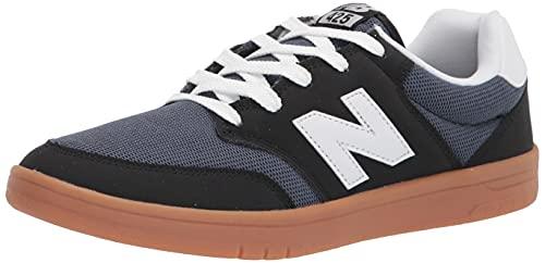 New Balance Men's All Coast 425 V1 Sneaker, Black/White/Charcoal, 8