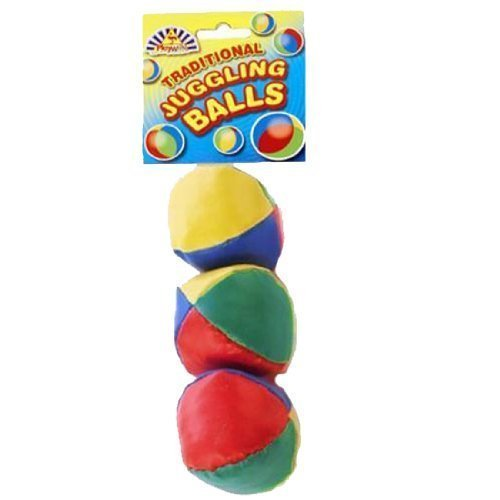 Party Bags 2 Go Lot de 3 balles de jonglage pour enfant