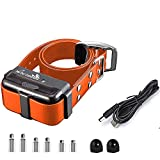 My Pet Command 1.25 Mile (6600 Ft) Dog Training Extra Collar Safe Dog Shock Collar Shock, Vibrate, Tone and Flashing Beacon Lights Waterproof Rechargeable Dog Hunting add Up to 3 Collars