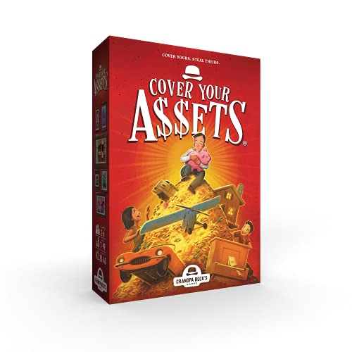 Grandpa Beck's Cover Your Assets Card Game | Fun Family-Friendly Set-Collecting Game | Enjoyed by...