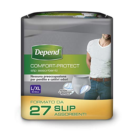 Depend Comfort Protect Incontinence Pants for Men, Large/Extra-Large - 27 Pants