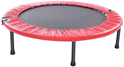 BRFDC Trampolin Fitness Deporte trampolín con cojín de la Seguridad Plegable Cubierta Fitness Trampolín Adultos estables diseño for los niños