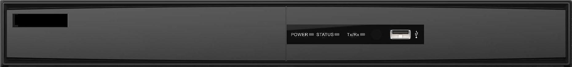 ENSECU 16 Channel HD-DVR + 8 Ch Onvif IP 6MP (HDTVI/HDCVI/AHD/ 960H), Hikvision OEM DS-7216HQHI-K2, HD Turbo, HDMI 4K Video Output, Audio, Surge Protection, HKTek, No Logo