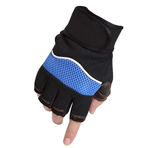 Herren Handschuhe Draussen Frühling Hjahr Und Sommer Hantel Gewicht Rutschfeste Einfache Handschuhe Für Männer Und Frauen (Color : B, Size : One Size)