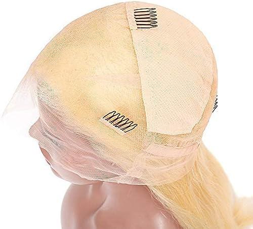 6 Perruque Full Lace Brésilienne Cheveux Raides Avec Des Cheveux De Bébé 22.5x14.5 Perruque En Dentelle Blonde Aux Cheveux Avant Pull Livraison Gratuite