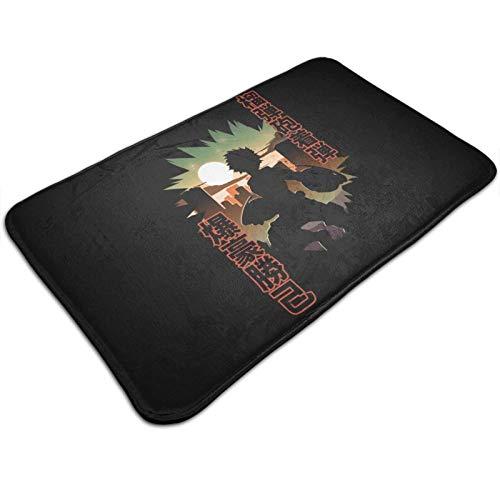Floor Mat Bakugo Silhouette Boku No Hero Academia 40X60Cm Alfombrilla Antideslizante Duradera Personalizada para Exteriores Alfombra Única para El Área De La Oficina Alfombra De En
