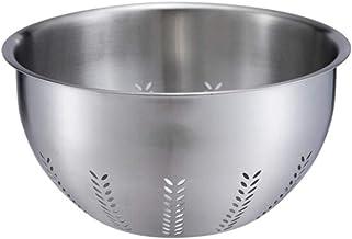 Stainless Steel Fruit Basket, Fruit Plate, Vegetable Basket, Drain Basket, Thick Stainless Steel Fruit Basket, Sieve Bowl,...