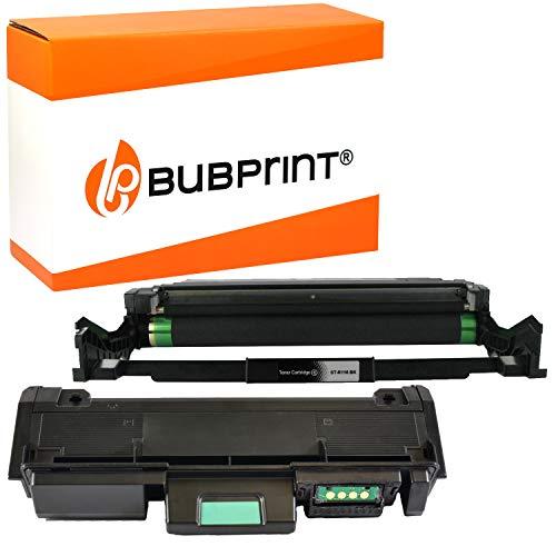 Bubprint Toner und Trommel kompatibel für Samsung MLT-D116L MLT-R116 Xpress M2625D M2675F M2675FN M2825DW M2825ND M2835DW M2875DW M2875FD M2875FW M2885 M2885FW Schwarz
