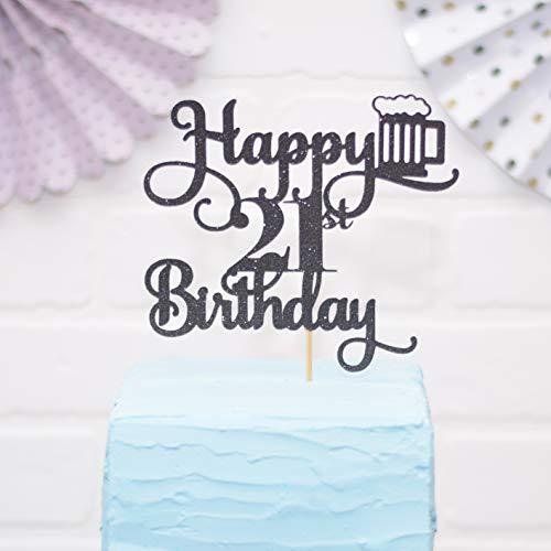 Alles Gute zum 21. Geburtstagstorte Topper Bier themenorientierte Geburtstagstorte Topper Legal AF
