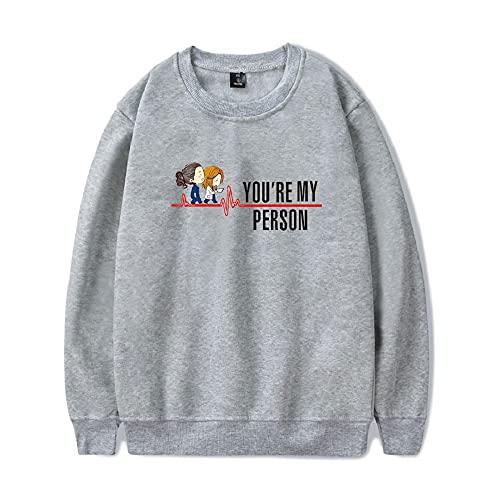 JDSWAN Unisex Grey'S Anatomy Crew Sudadera Camisetas Sudadera De Manga Larga Langarm-Sweatshirt...