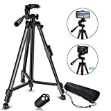 "Best Android Camera Phones - Phone Tripod, GPED 55"" Extendable Camera Tripod Review"