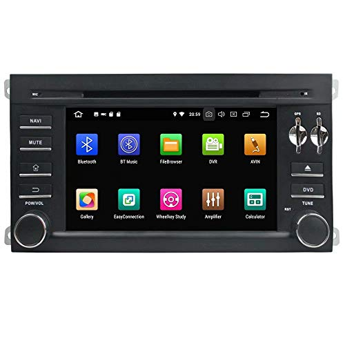 ROADYAKO Unité Principale ou Toyota Highlander 20 Android 8.1 Autoradio Stéréo avec Navigation GPS Lien de Miroir 3G WiFi RDS FM AM Bluetooth
