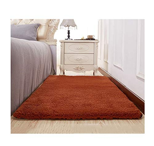 alfombra FWW Sala Simple, Moderna, Gruesa, Felpa, Sala, Mesa de café, Dormitorio, Junto a la Cama Mantas (Color : G, Size : 180 * 200)