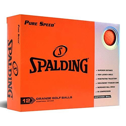 Spalding Pure Speed 12 Bälle – Orange