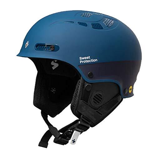 Sweet Protection Igniter II MIPS Casque de Ski/Snowboard pour Adulte Bleu Marine Taille LXL