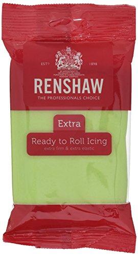 Renshaw Rollfondant Extra Pastel grün (1 x 250 g)