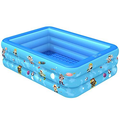 Ginkx Piscina Hinchable Familiar Piscina Rectangular para niños, Piscinas inflables para niños, Centro de natación Ideal para Todos los niños y Adultos