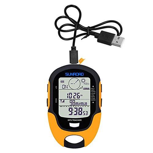 Nobrand GPS Navegación Rastreador Deporte Reloj Digital Ejército Horas Ejecutando Militar Altímetro...