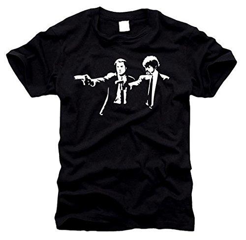 FOTL / B&C / Gildan Pulp Fiction - T-Shirt - Gr. M