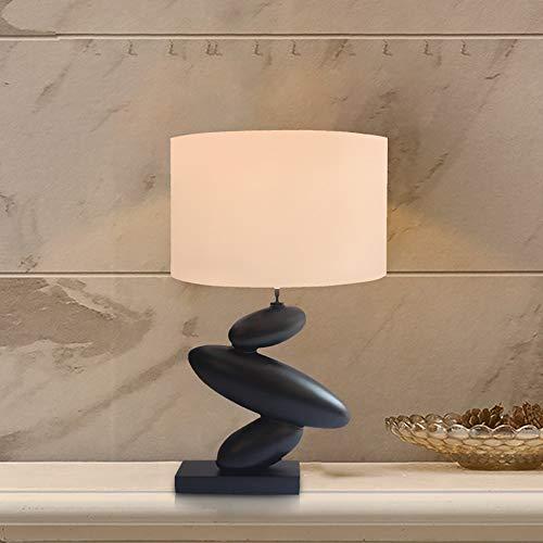 Zzyff Elegante De Noche Clásica Lámpara De Mesa / 3D Moderna Simple Tabla De La Lámpara De La Lámpara/Creativa Resina Sala De Estar Dormitorio De La Lámpara 38 * 62 CM