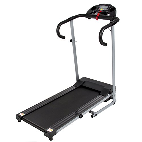 ABEXCEED­® 500W PORTABLE FOLDING ELECTRIC MOTORISED TREADMILL RUNNING WALKING FITNESS FOLD