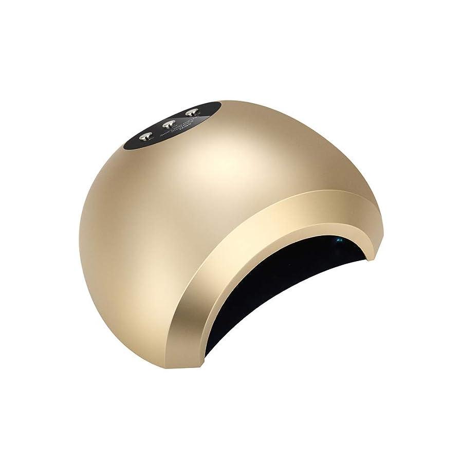 変えるストロー麻痺48Wインテリジェント誘導デュアル光源放熱無痛速乾性光線療法ランプネイルポリッシュグルーライト速乾性ドライヤーネイルポリッシュUVランプ