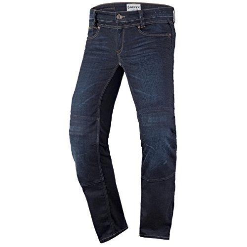 Scott Denim Strech Damen Motorrad Jeans Hose blau 2020: Größe: XXL (44)