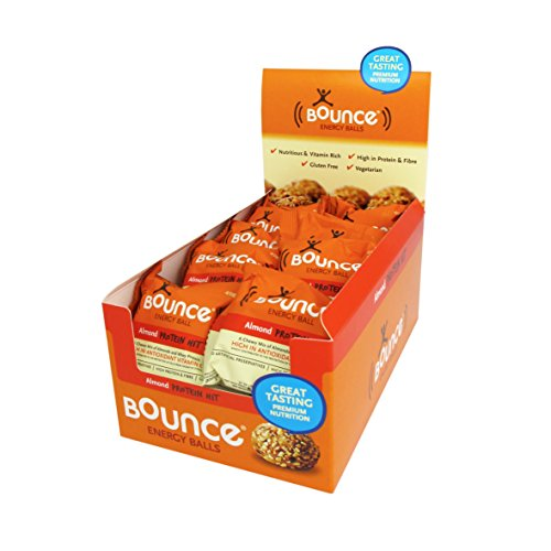 Bounce Foods Almond Protein Hit Energy Ball (Pack of 20